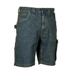 Bermuda jeans poche mètre Cofra
