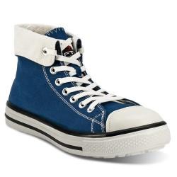 Chaussures de sécurité toile renforcée FTG Blues High