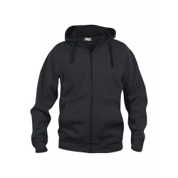 Sweat-Shirt Homme Basic Hoody Full Zip 99Noir