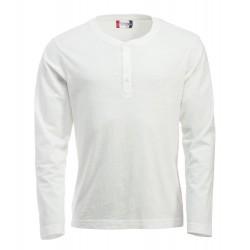 Tee-shirt ML homme Clique Orlando 07Craie