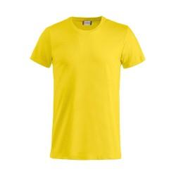 Tee-shirt Clique Basic T jaune