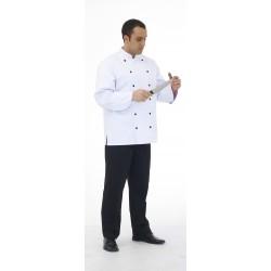 Veste de cuisine manches longues polycoton Lorenzo