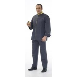Veste de cuisine manches longues polycoton Marc