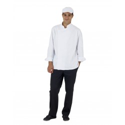 Veste de cuisine manches longues polycoton Jérémy