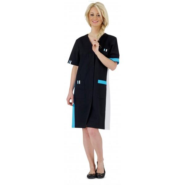 blouse de travail femme longue manches courtes ambre. Black Bedroom Furniture Sets. Home Design Ideas
