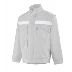 Blouson ambulancier blanc