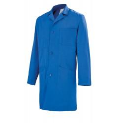 Blouse de travail 100% coton bleu Lafont