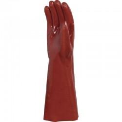 Gants PVC rouge L 400