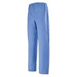 Pantalon médical bleu de perse
