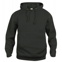 Sweat-shirt Mixte Clique Basic Hoody 99Noir