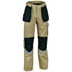 Pantalon de travail Cofra CARPENTER Beige